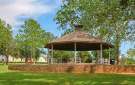 Gazebo in Duncan Park